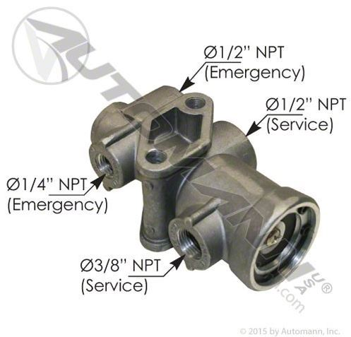 Tp Type Tractor Protection Valve