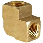 Picture of 3500-2, Brass Elbow - 1/8""