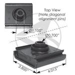 Picture of M17450, Front Motor Mount - International