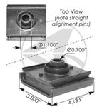 Picture of M17451, Front Motor Mount - International