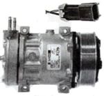 Picture of 03-0804, A/C Compressor - 12V, Direct Mount, 8 Groove, Series SD7, Type SD7H15