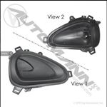 Picture of HLK1071, International Truck Interior Door Handle - Left Hand, International 2505424C1