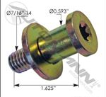 Picture of HLK2374, Door Lock Striker Bolt - International
