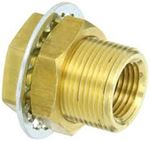 Picture of 207-6, Bulkhead Coupling - 3/8""
