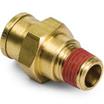 """Picture of 2468-8-8, Brass Male Connector - 1/2"""" x 1/2"""""""