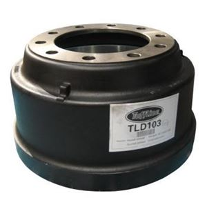 "Picture of TLD103, Brake Drum - 16.5"" x 7"""