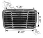 Picture of 564.14008, Freightliner P3 Grille