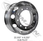 "Picture of 157.A225-33532, Hub Pilot - Aluminum, 22.5"" x 8.25"""