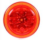 """Picture of 10385R, LED Round Marker - 2.5"""" Red"""