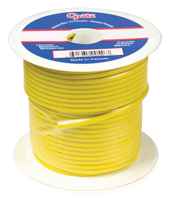 89-7011, Grote General Purpose Thermo Plastic Wire - 14 Gauge ...