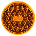 "Picture of 4050A, LED Round Front/Park/Turn - 4"" Yellow"