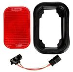 Picture of 45022R, Rectangle S/T/T Kit  - Red, Grommet & Pigtail Included