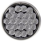 "Picture of 4060C, LED Back Up - 4"" Round, Clear"
