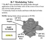 Picture of B103081, R7 Pressure Modulating Valve