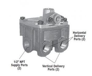 Picture of 800481, R12 DC Relay Valve - 4 PSI
