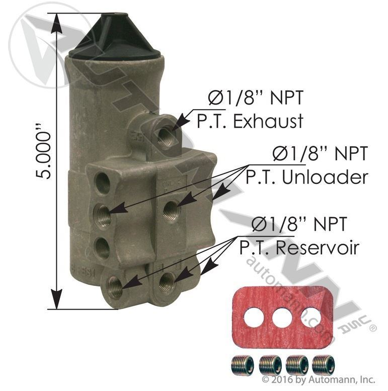 170 275491 D2 Type Governor 100 120 Psi Heavy Duty