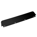 "Picture of 031-00242, Top Flap Set - Black, Rubber, 6"" x 24"""