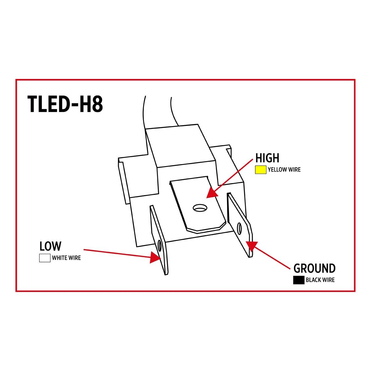 led headlights wiring diagram tled h8  trux led projector headlight  199 with free shipping  tled h8  trux led projector headlight