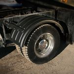 "Picture of MIN1600B, Poly Fender Single Axle Set - 16.5"", Black *Call for Shipping Prices"