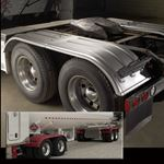 Picture of MIN4000B, Poly Fender Tandem Axle Set - Black *Call for Shipping Prices