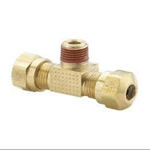 """Picture of 1472-4-4, Male Branch Tee - Tube 1/4"""" to Pipe 1/4"""""""