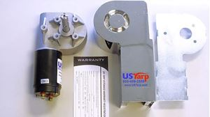 Picture of 15398, Universal Tarp Motor - 90:1, 5 Bolt Mounting