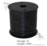 Picture of 178.2112BK, Primary Wire - 12 GA, Black, 100 FT