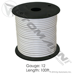 Picture of 178.2112WT, Primary Wire - 12 GA, White, 100 Ft