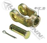 "Picture of 179.YK5810, Clevis Kit - 1/2"" Pin, 1/2""-20, CF1"