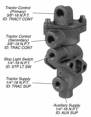 065706, TP3DC Type Tractor Protection Valve