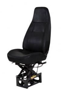 Picture of 1247001544, Baja High Back Seat - Black Vinyl