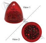 "Picture of 571.LD13R13, Beehive LED Marker - 2.5"", Red"