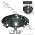 Picture of 562.B1601CBP, Chrome Front Axle Hub Cap - 6 Notch