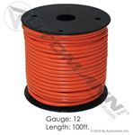 Picture of 178.2112NG, Primary Wire - 12 GA, Orange, 100 FT