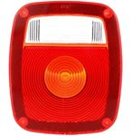 Picture of 9072, Replacement Lens - Red, 5010 Series Signal Stat