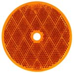 "Picture of 98006Y, Yellow Reflector - 3"" Round, 1 Screw"