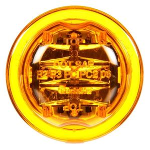 "Picture of 10275Y, Led Marker Light 2.5"" - Yellow, 8 Diode"