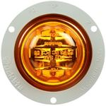 "Picture of 10379Y, LED Marker Light 2.5"" - Yellow with Flange, 8 Diode"