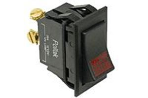 Picture of 34-305P, Universal Rocker Switch - On/Off, 3 Screw