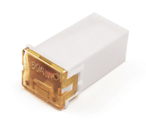 82fmx25a  Jcase Fuse - 25 Amp  Clear  Female Fuse