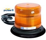 Picture of 7945A-VM, LED Amber Beacon - Vacuum Magnet, 7x7x5, SAE J845 Class II