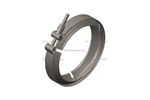 "Picture of 2871861, Cummins V Band Clamp - DPF Exhaust Clamp, 9.5"", ISB / ISB 6.7"