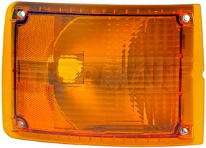 Picture of 888-5113, IHC Heavy Duty Turn Signal Light - Front Right, Amber, Navistar 1661762C93
