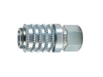 "Picture of PD242, Female Coupler - 1/4""-18, Steel Quick Coupling"