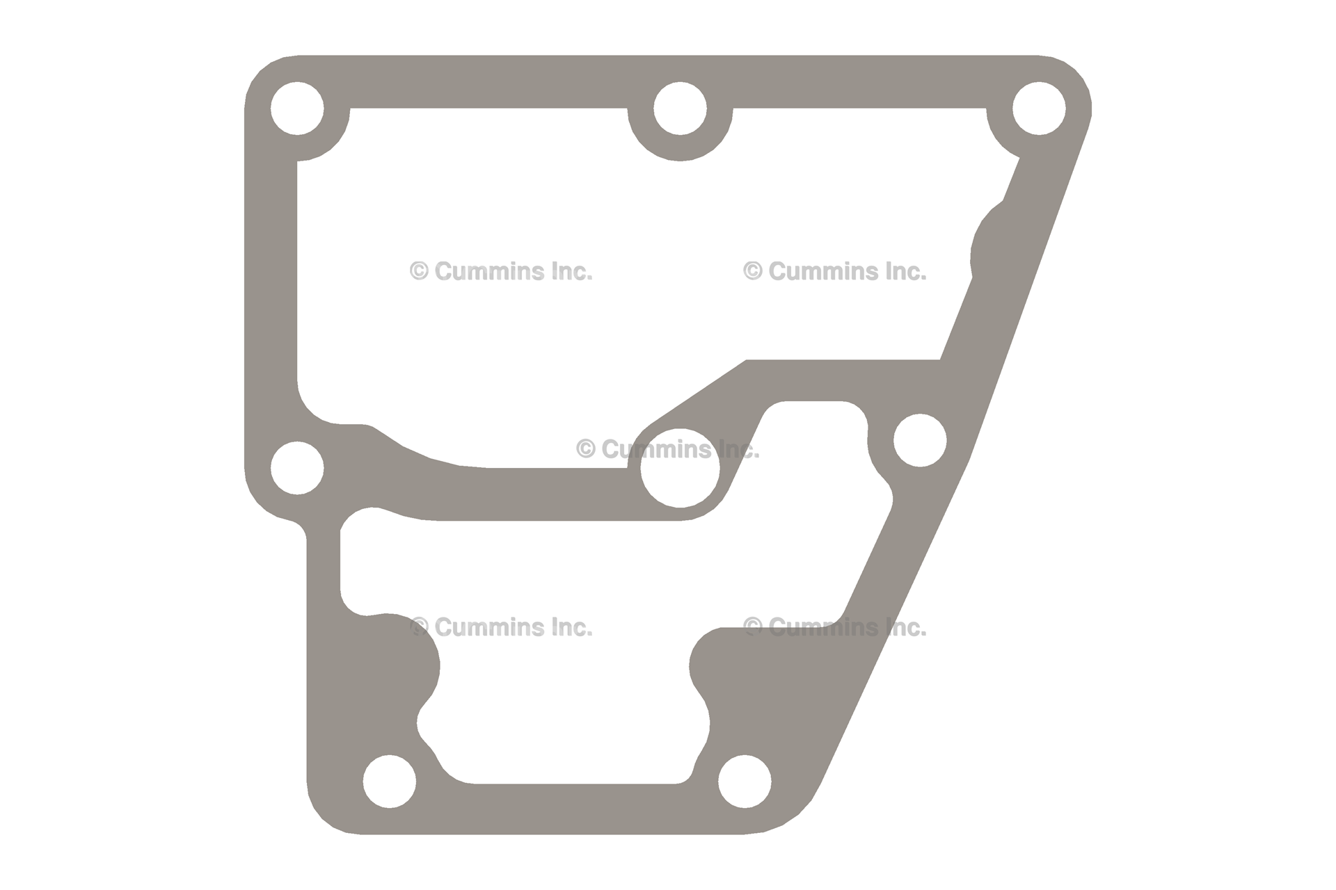 3893692, Thermostat Gasket - Cummins, M11 Plus Celect Thermostat Housing