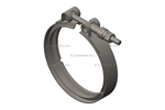 """Picture of 5290118, Cummins V Band Clamp - 5"""" DPF Exhuast"""