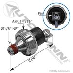 Picture of 170.12336, Low Pressure Switch - 1 Terminal, 70 PSI Activation Pressure, Also Try NewStar S-9127