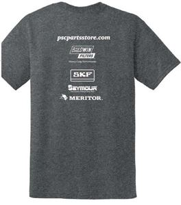 Picture of Short Sleeve PSC Parts T Shirt - Small, Gray