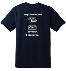 Picture of Short Sleeve PSC Parts T Shirt - XXL, Blue