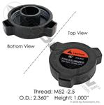 Picture of 572.2032, Surge Tank / Coolant Cap - Freightliner Cascadia, Freightliner BHTW3678001